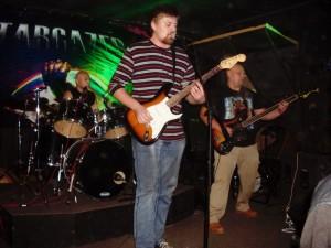 Рок-группы «Чёрный бэнд» и «PND» в рок-клубе «Stargazer»